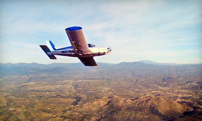 Learn To Fly San Diego - Kearny Mesa: $199 for Two-Hour Flight Lesson at Learn To Fly San Diego (Up to $500 Value)