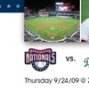 40% Off Nationals Tickets