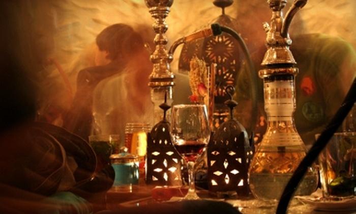 Laziza Hookah Lounge Restaurant & Bar - Silverado Ranch: $15 for $30 Worth of Lebanese Fare and Hookah Smoking at Laziza Hookah Lounge Restaurant & Bar