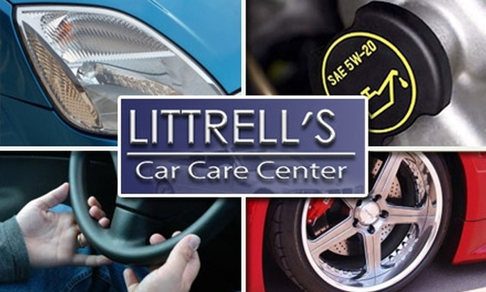 Littrell's Car Care Center - 1: $15 for an Oil Change, Tire Rotation, and Maintenance Inspection at Littrell's Car Care Center (Up to $132 Value)