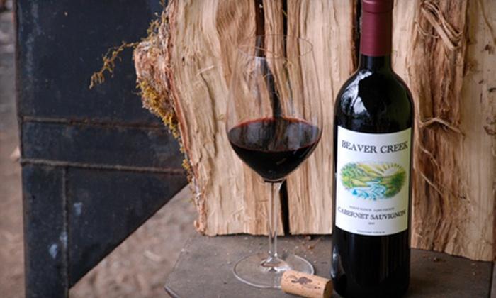 Beaver Creek Vineyard: $49 for Three Bottles of Organic 2007 Cabernet Sauvignon from Beaver Creek Vineyard ($147 Value)