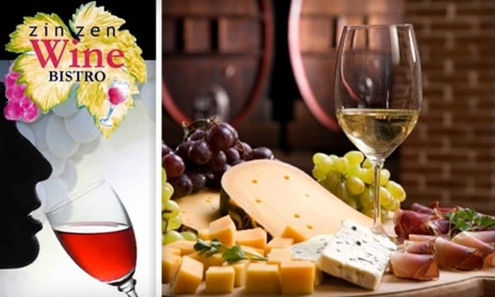 Zin Zen Wine Bistro - Adriatica: $15 for $30 Worth of Wine and Gourmet Fare at Zin Zen Wine Bistro in McKinney