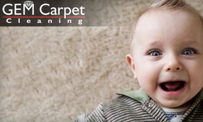 Gem Carpet Cleaning - South Bend: $49 for Two Rooms and One Hallway of Carpet Cleaning and Protectant from Gem Carpet Cleaning (Up to $282 Value)