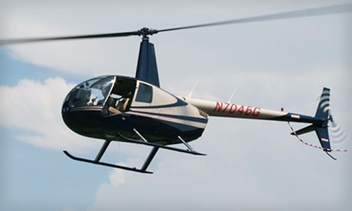 Chopper Charter Branson - Hollister: $199 for an Introductory Helicopter Flight Lesson and Tour from Chopper Charter Branson in Hollister ($495 Value)