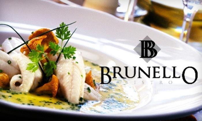 Brunello Bistro - Ten Hills: $25 for $50 Worth of Italian-Mediterranean Fare at Brunello Bistro in Somerville