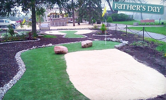 The Greens at Brock - Thorold: $12 for Four Rounds of 18-Hole Miniature Golf at The Greens at Brock (Up to $26 Value)