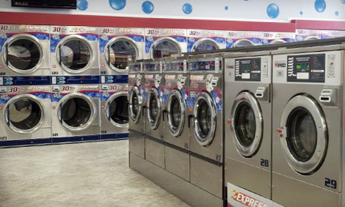 Blue Bubble Express Laundry - Old North Columbus: Self-Serve Laundry or Wash-and-Fold Services at Blue Bubble Express Laundry (Half Off)