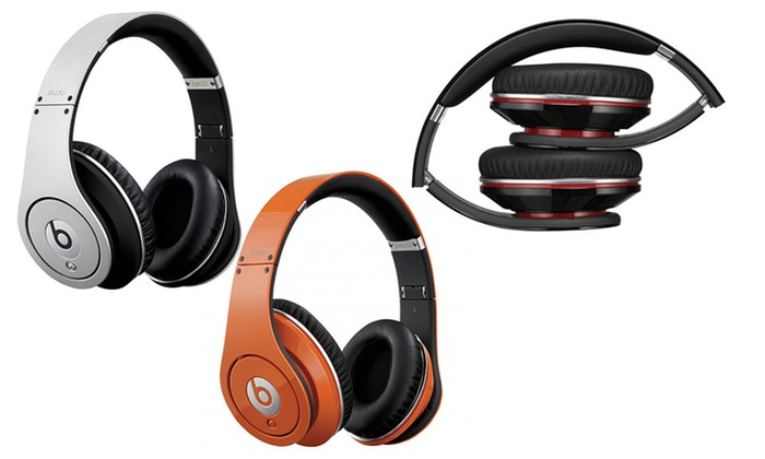 Beats By Dr. Dre Studio Over-Ear Headphones: Beats By Dr. Dre Studio Over-Ear Headphones