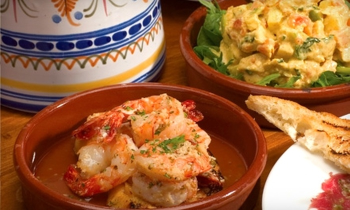 Tinatapa's - Channel District: $17 for $35 Worth of Traditional Spanish Tapas and Drinks at Tinatapa's