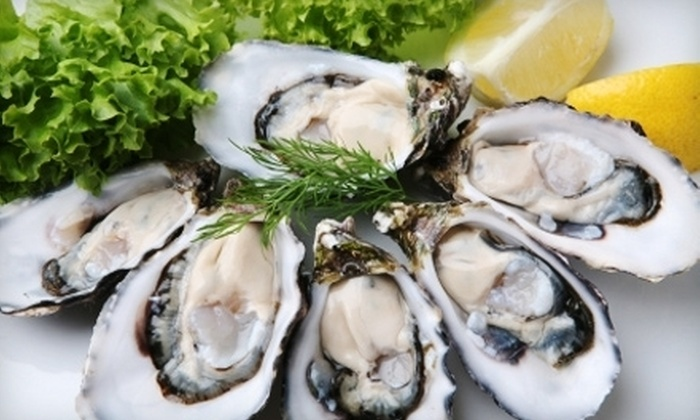 Hood Canal Seafood - Carmel: $44 for 48 Fresh Live Oysters from Hood Canal Seafood ($93 Value)
