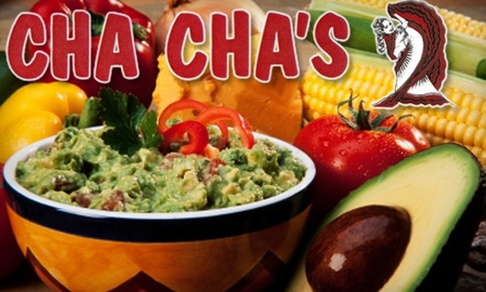 Cha Cha's Mexican Restaurant - Baymeadows: $10 for $20 Worth of Fresh Mexican Cuisine and Drinks at Cha Cha's Mexican Restaurant