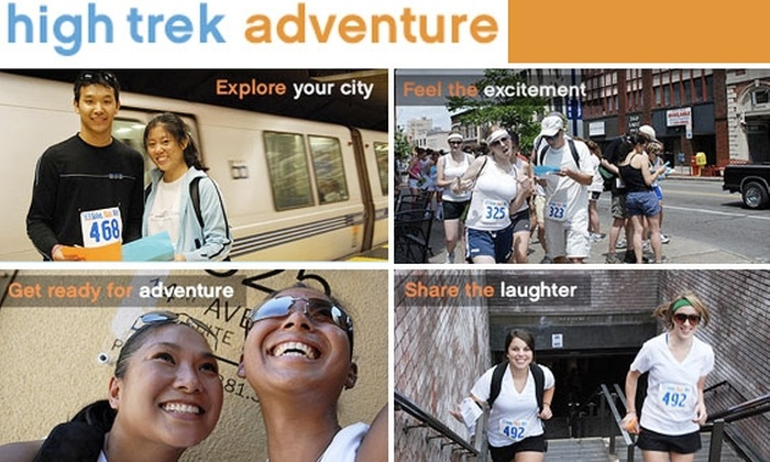 High Trek Adventure - Southwst Berkeley: $50 Entry for Two to Thrilling Urban Adventure Race