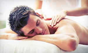 Sports Spa USA: One Men's 60-Minute Signature or Sports Massage and One 30-Minute Body Scrub at Sports Spa USA (Up to 53% Off)