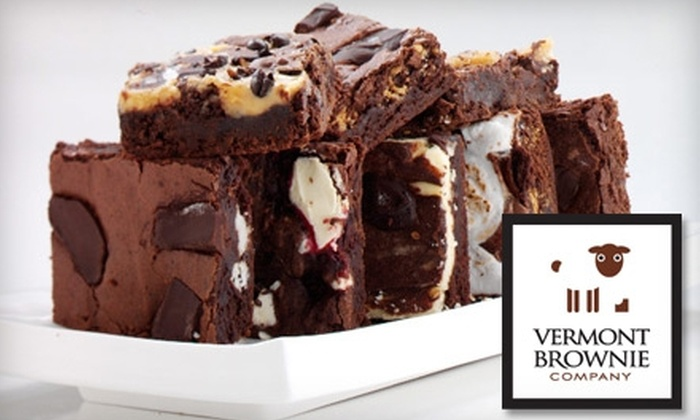Vermont Brownie Company: $15 for a Six-Brownie Sampler Pack from Vermont Brownie Company (Up to $29 Value)