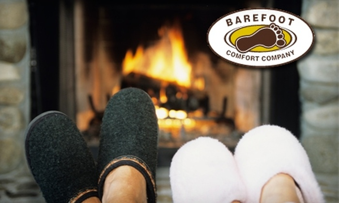 Barefoot Comfort Company - Downtown: $15 for $30 Worth of Cozy Footwear at Barefoot Comfort Company
