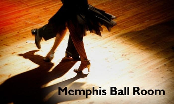 Memphis Ballroom Dance Company - Memphis: $20 for One Month of Weekly Beginners Ballroom Dance Lessons at Memphis Ballroom Dance Company (Up to $60 Value)