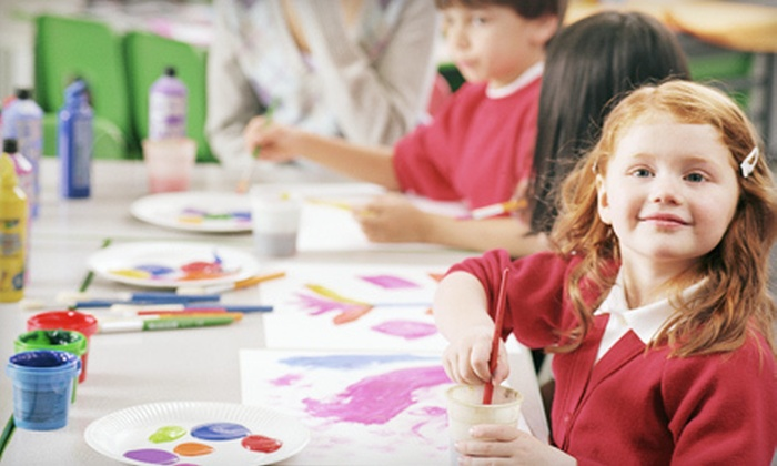 Our Hands Together - Lake Murray: Preschool Playdate with Craft and Story or Kids' Arts and Crafts Class at Our Hands Together (Up to 55% Off)