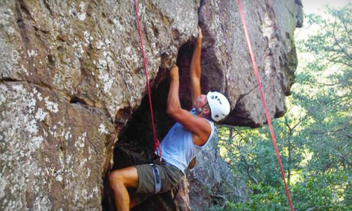 Northeast Mountain Guiding - Cornelius: Rock-Climbing Course for One or Two from Northeast Mountain Guiding in Huntersville (Up to 55% Off)