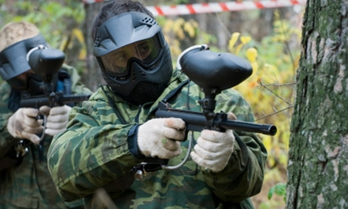 Bigshot Paintball Fields - Multiple Locations: $25 Paintball Outing at Bigshot Paintball Fields ($51 Value)