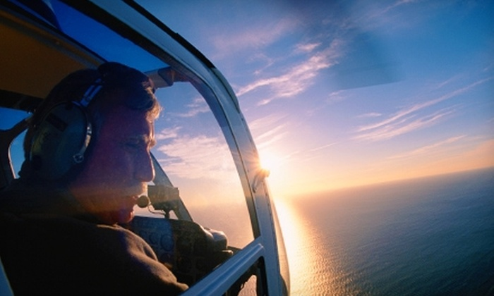Central Valley Helicopters - Livingston-Delhi: $99 for Helicopter-Flying Lessons from Central Valley Helicopters ($249 Value)