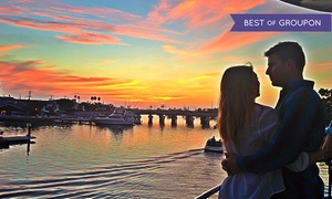 Cruise Newport Beach: Sunset Cruise with Drinks for Two or Four from Cruise Newport Beach (Up to 57% Off)