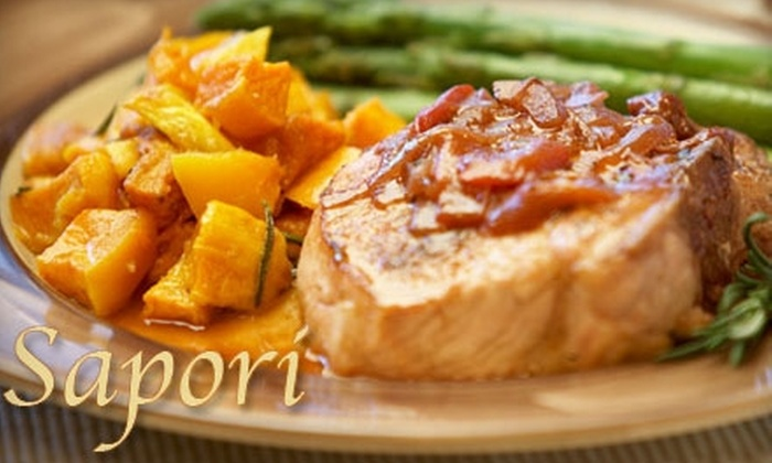 Sapori Trattoria Italiana - Collingswood: $15 for $30 Worth of Italian Cuisine at Sapori Trattoria Italiana