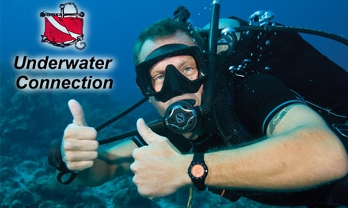 Underwater Connection - Multiple Locations: $17 for a Discover Scuba Class at Underwater Connection