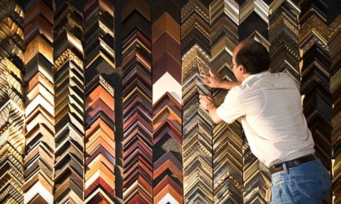Dimensions Gallery & Framing - Madison: $45 for $100 Worth of Custom Framing at Dimensions Gallery & Framing in Sun Prairie
