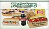 Mr. Goodcents Subs & Pastas - Tulsa: $10 for $20 Worth of Subs, Pastas, and More at Mr. Goodcents Subs & Pastas