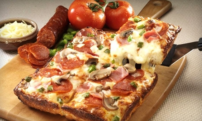 Jet's Pizza - Wheeling: $10 for $20 Worth of Pizza and More at Jet's Pizza in Wheeling
