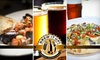 Brew It Up! Personal Brewery & Grill  - Central Sacramento: $10 for $20 Worth of Brewery Fare at Brew It Up! Personal Brewery & Grill