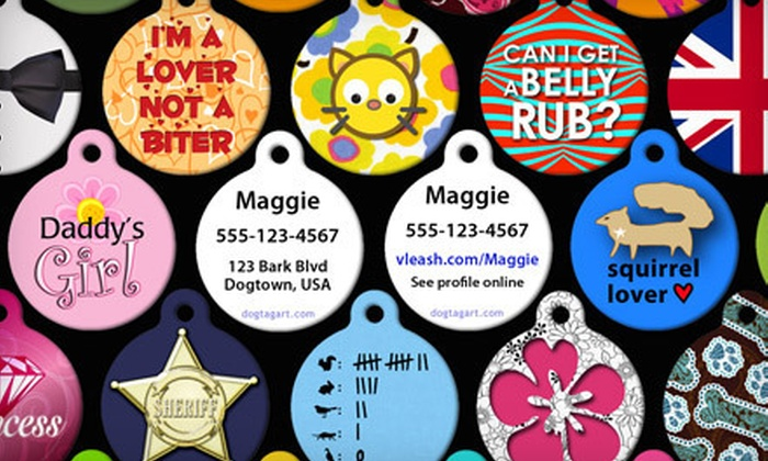 dog tag art in providence groupon