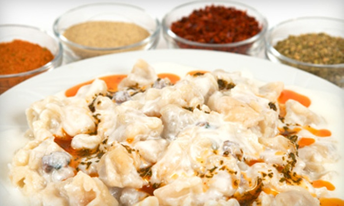 Efes Turkish Cuisine - Sanford: $15 for $30 Worth of Turkish Dinner Fare and Drinks at Efes Turkish Cuisine in Sanford