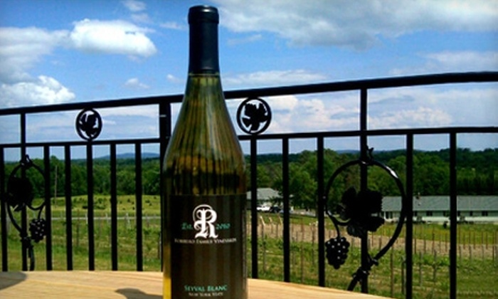 Robibero Family Vineyards - Gardiner: $40 for a Private Wine Tasting and Cellar Tour for Up to 10 People at Robibero Family Vineyards (Up to $150 Value)
