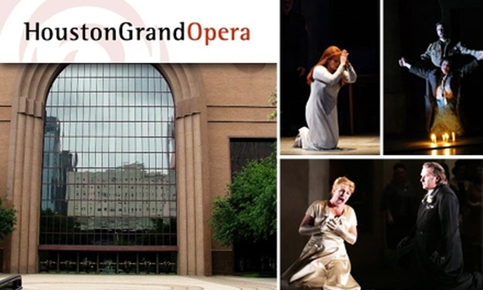 "Houston Grand Opera  - Downtown: $24 Tickets to ""Lohengrin"" at the Houston Grand Opera. Buy Here for 11/15 at 2 p.m. See Below for 11/13 Performance."