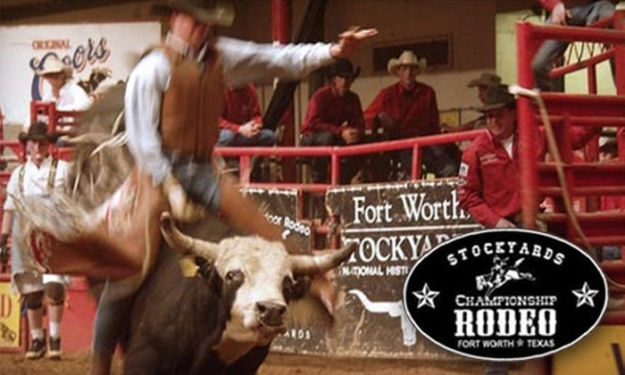 Stockyards Championship Rodeo - Fort Worth: $20 for Two Reserved Box Tickets to the Stockyards Championship Rodeo in Fort Worth