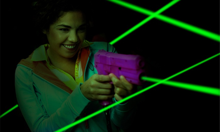 Fun On The Run Paintball Park - Fort Worth: $19 for One Hour of Outdoor Laser Tag for Two with Equipment at Fun On The Run Paintball Park ($50 Value)