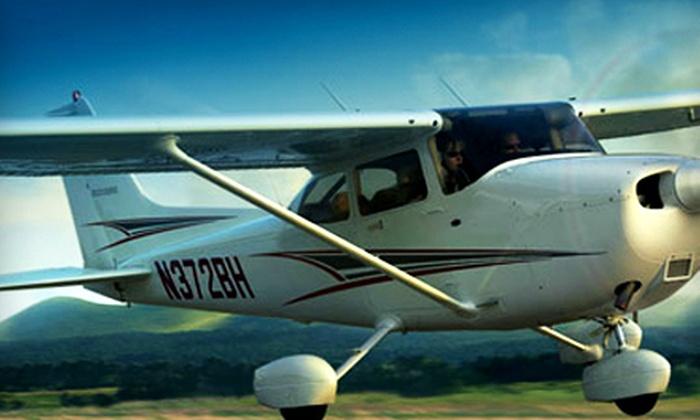 Mid Island Air Service - Ronkonkoma: $99 for an Adventure Flight Lesson from Mid Island Air Service in Ronkonkoma ($250 Value)
