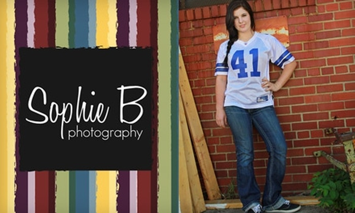 Sophie B Photography - Wichita: $45 for an On-Location Photo Session Plus Five Retouched Digital Images from Sophie B Photography ($185 Value)