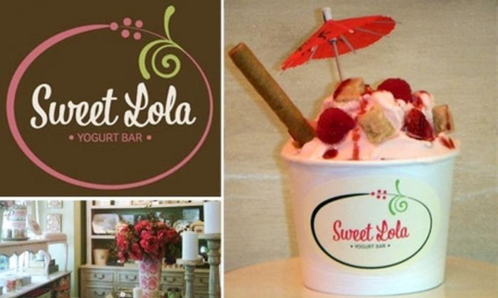 Sweet Lola Yogurt Bar - Midtown: $6 for $12 Worth of Frozen Yogurt at Sweet Lola Yogurt Bar