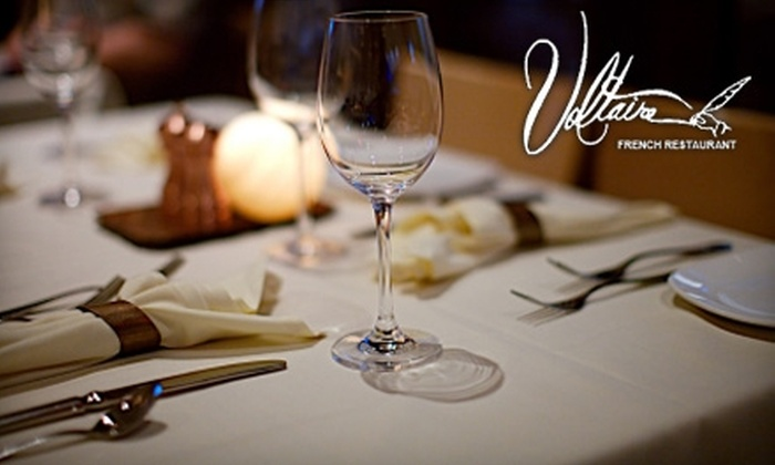 Voltaire Restaurant - South Scottsdale: $20 for $40 Worth of Fine French Cuisine at Voltaire Restaurant in Scottsdale