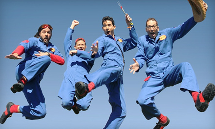 Disney's Imagination Movers Live in Concert! Rock-O-Matic Tour - Zeiterion Theatre: $18 to See Disney's Imagination Movers Live in Concert in New Bedford on May 4 at 4 p.m. or 7 p.m. (Up to $39.50 Value)