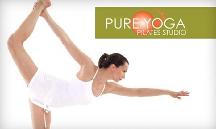 Pure Yoga Pilates Studio - Wilmington: $25 for Five Drop-In Classes at Pure Yoga Pilates Studio ($55 Value)
