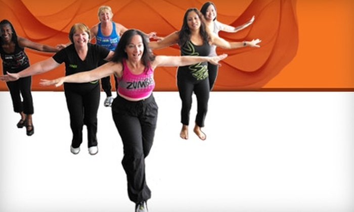 My Zumba Fitness - Multiple Locations: $28 for a Ten-Class Punch Card at My Zumba Fitness ($113 Value)