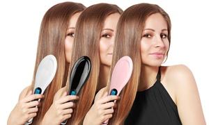 Magic Silky LED Straightening Detangling Hair Brush  at Magic Silky LED Straightening Detangling Hair Brush, plus 6.0% Cash Back from Ebates.