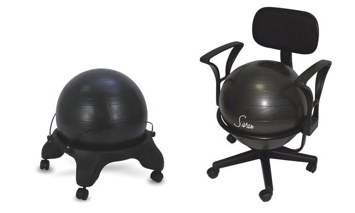 sivan health and fitness balance ball fit chair sivan health and fitness balance ball fit