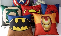 Hero-Themed Pillow Case in Choice of Design for AED 45 (63% Off)