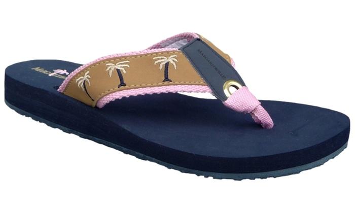 61ec63d31ecb3 Margaritaville Women s Breezy Cushioned Thong Sandal