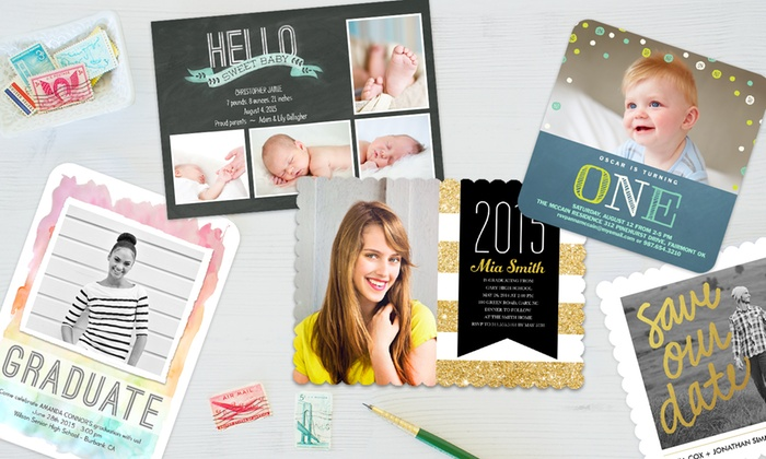 Simply To Impress: Custom Graduation Announcements, Invitations, Photo Cards, & More from Simply To Impress (Up to 67% Off).