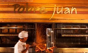 Pobre Juan: Pobre Juan – 4 endereços: almoço ou jantar completo para 1 ou 2 pessoas (com opção de vinho)